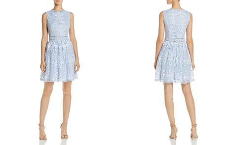 AQUA Vine Embroidered Dress - 100% Exclusive - Bloomingdale's_2