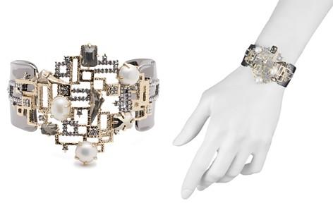 Alexis Bittar Geometric Simulated Pearl Cuff Bracelet - Bloomingdale's_2
