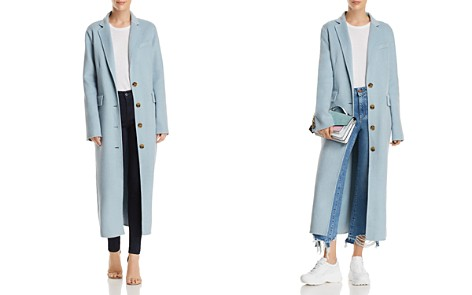 Elizabeth and James Russell Classic Long Coat - Bloomingdale's_2