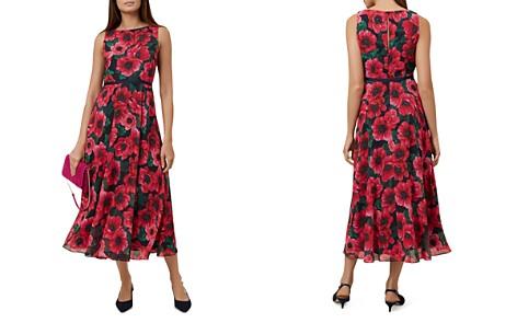 HOBBS LONDON Carly Floral Print Midi Dress - Bloomingdale's_2