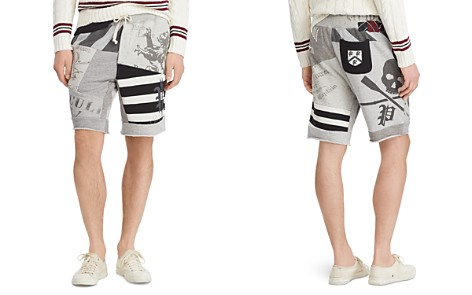 Polo Ralph Lauren Polo Patchwork Fleece Shorts - Bloomingdale's_2