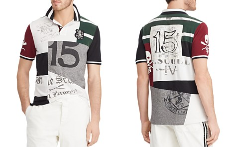 Polo Ralph Lauren Polo Classic Fit Patchwork Polo Shirt - Bloomingdale's_2
