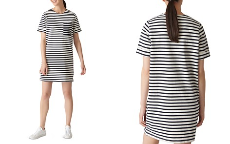 Whistles Amaka Striped Jersey Dress - Bloomingdale's_2