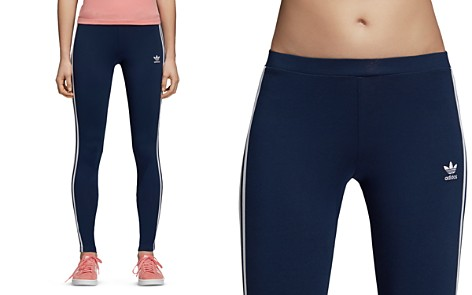 adidas Originals Three-Stripe Leggings - Bloomingdale's_2