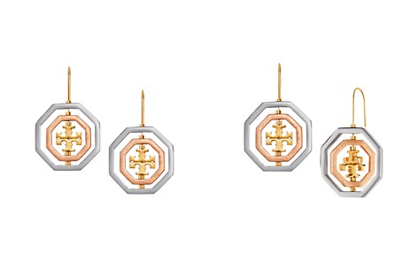 Tory Burch Logo Spinner Drop Earrings - Bloomingdale's_2