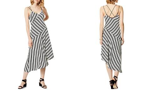 KAREN MILLEN Asymmetric Striped Slip Dress - Bloomingdale's_2