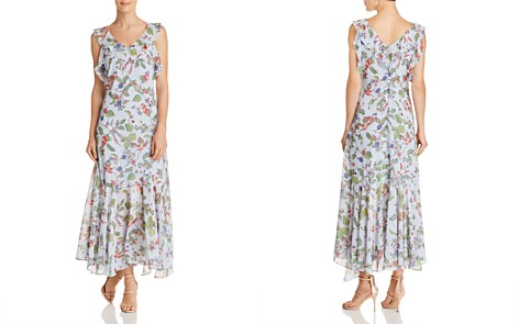 nanette Nanette Lepore Sleeveless Ruffle-Trim Floral-Print Maxi Dress - Bloomingdale's_2