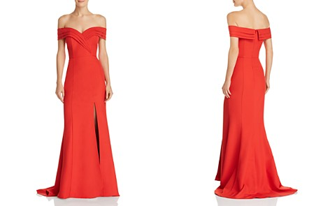 Jarlo Marisole Off-the-Shoulder Gown - Bloomingdale's_2