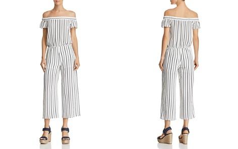 AQUA Striped Off-the-Shoulder Wide-Leg Jumpsuit - 100% Exclusive - Bloomingdale's_2