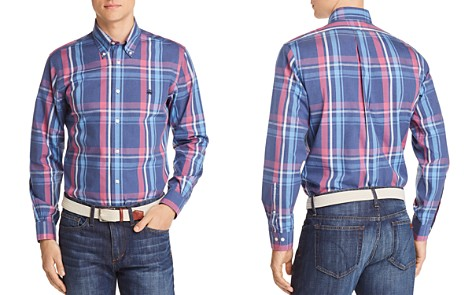 Brooks Brothers Regent Non-Iron Plaid Slim Fit Button-Down Shirt - Bloomingdale's_2