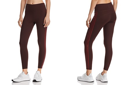Adidas Believe This High-Rise Striped Leggings - Bloomingdale's_2