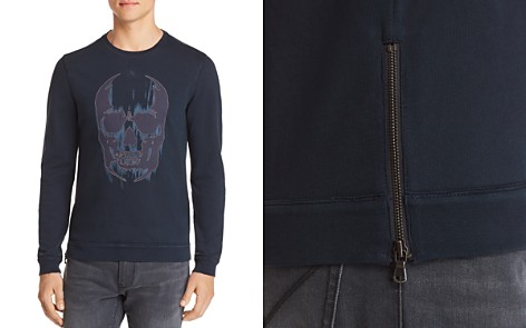 John Varvatos Star USA Long-Sleeve Skull Graphic Tee - 100% Exclusive - Bloomingdale's_2