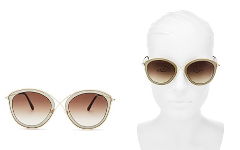 Tom Ford Women's Sasha Round Sunglasses, 55mm - Bloomingdale's_2