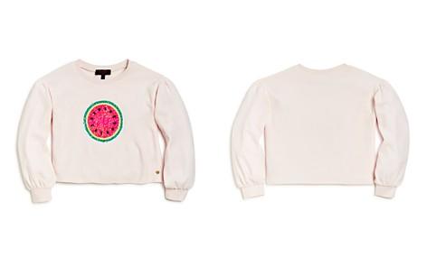 Juicy Couture Black Label Girls' Watermelon Reversible Sequin Velour Pullover - Big Kid - Bloomingdale's_2