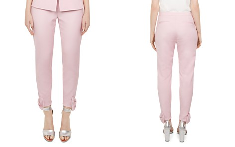 Ted Baker Toplyt Bow-Detail Cropped Pants - Bloomingdale's_2