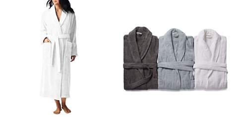 Coyuchi Unisex Cloud Loom Organic Cotton Robe - Bloomingdale's_2