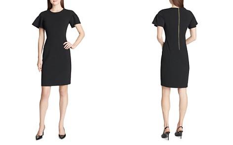 Calvin Klein Ruffle-Sleeve Dress - Bloomingdale's_2