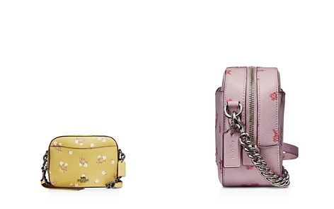COACH Floral Bow Print Crossgrain Leather Crossbody Bag - Bloomingdale's_2