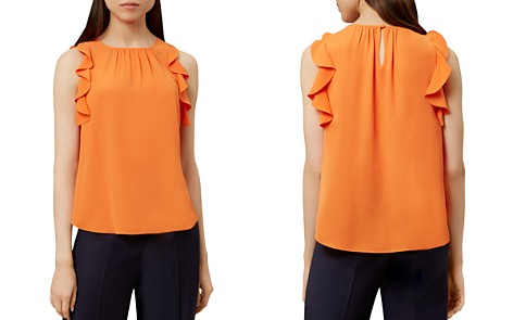 HOBBS LONDON Frances Ruffled Top - Bloomingdale's_2