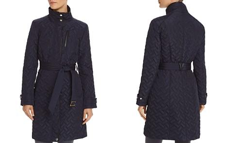 Cole Haan Signature Quilt Belted Coat - Bloomingdale's_2