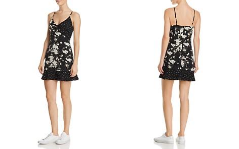 Re:Named Geelia Mixed-Print Mini Dress - Bloomingdale's_2