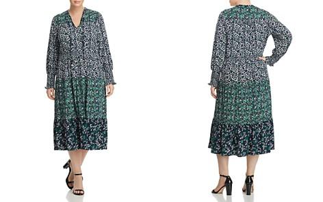 MICHAEL Michael Kors Plus Tiered Paisley Print Midi Dress - Bloomingdale's_2