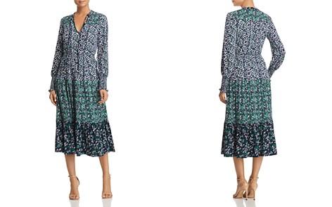 MICHAEL Michael Kors Mixed-Print Midi Dress - Bloomingdale's_2