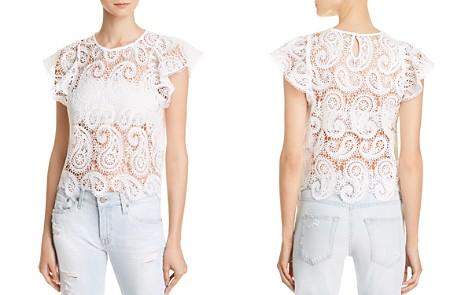 Lucy Paris Paisley Lace Top - Bloomingdale's_2