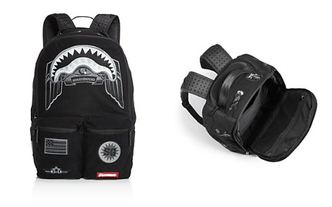 Sprayground Ghost Shark Patch Backpack - Bloomingdale's_2