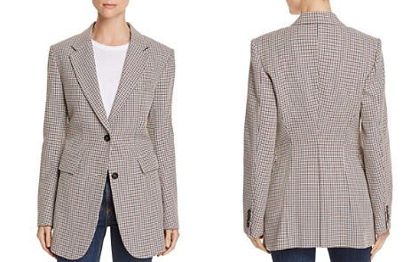 Theory Super Cinch Houndstooth Blazer - Bloomingdale's_2