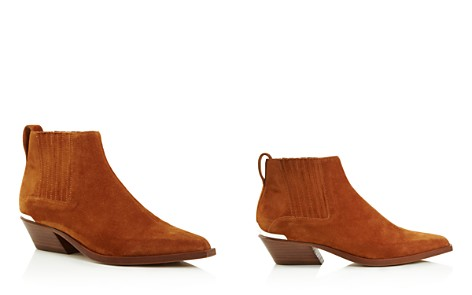 rag & bone Women's Westin Pointed-Toe Suede Low-Heel Booties - Bloomingdale's_2