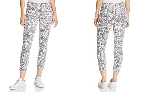 Current/Elliott The Stiletto Cropped Skinny Jeans in Warped Leopard - Bloomingdale's_2