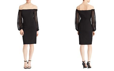 Lauren Ralph Lauren Off-the-Shoulder Dress - Bloomingdale's_2