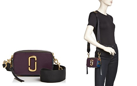 MARC JACOBS Snapshot Saffiano-Leather Crossbody - Bloomingdale's_2