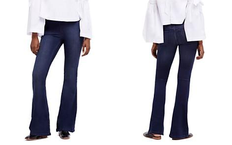 Free People Penny Flare Jeans in Denim Blue - Bloomingdale's_2