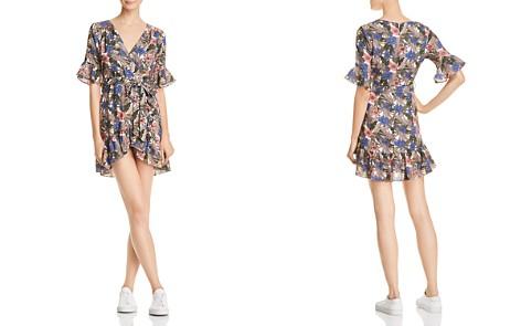 Lost + Wander Siesta Printed Faux-Wrap Mini Dress - Bloomingdale's_2