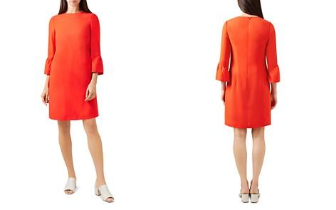 HOBBS LONDON Flora Bell Sleeve Shift Dress - Bloomingdale's_2
