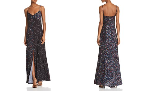 FRENCH CONNECTION Aubine Floral Print Maxi Slip Dress - Bloomingdale's_2