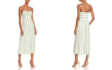 Amanda Uprichard Lincoln Strapless Wide-Leg Jumpsuit - Bloomingdale's_2
