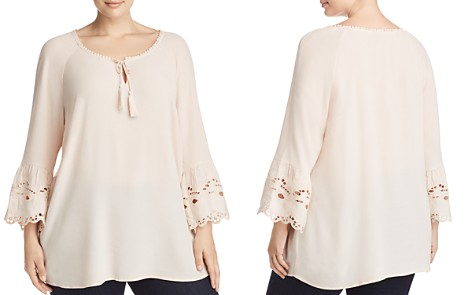 Estelle On a Whim Embroidered Peasant Top - 100% Exclusive - Bloomingdale's_2