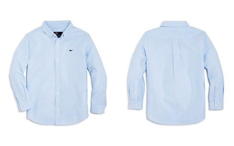Vineyard Vines Boys' Striped Oxford Whale Shirt - Little Kid, Big Kid - Bloomingdale's_2
