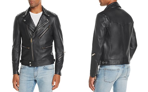 Paul Smith Leather Biker Jacket - Bloomingdale's_2