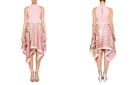 Ted Baker Angelik Harmony Burnout-Stripe Dress - Bloomingdale's_2