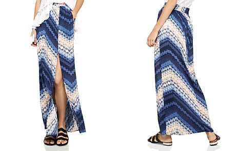 BCBGeneration Chevron Maxi Skirt - Bloomingdale's_2