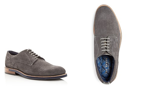 Ted Baker Men's Lapiin Perforated Suede Plain Toe Oxfords - Bloomingdale's_2