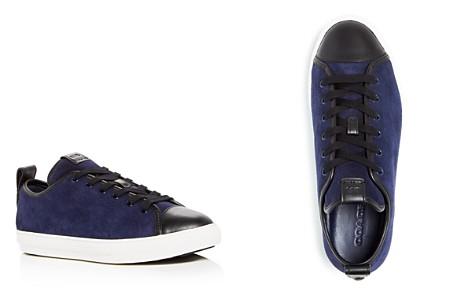COACH Men's C121 Suede Cap Toe Lace Up Sneakers - Bloomingdale's_2