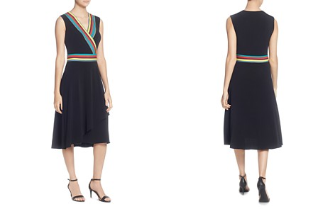 CATHERINE Catherine Malandrino Marzi Stripe-Trim Dress - Bloomingdale's_2
