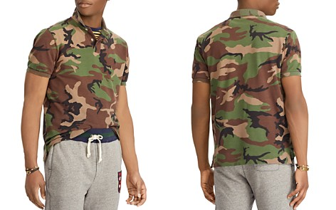 Polo Ralph Lauren Polo Camouflage-Print Mesh Classic Fit Polo Shirt - Bloomingdale's_2