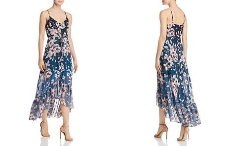 nanette Nanette Lepore Ombré Floral High/Low Dress - Bloomingdale's_2
