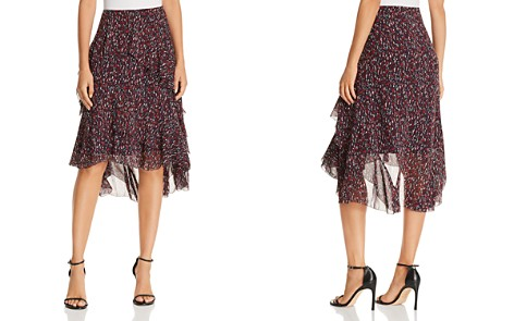 Joie Brigida Printed Silk Skirt - Bloomingdale's_2